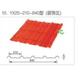 YX25-210-840型(装饰瓦)